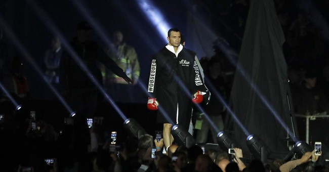 The Latest: Joshua knocks out Klitschko for title