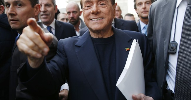 Berlusconi released after receiving stitches due to fall