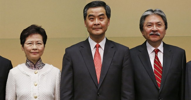 Hong Kong's No. 2 official resigns, plans leadership bid