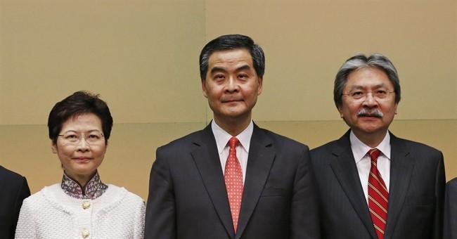 Hong Kong's No. 2 official resigns, plans leadership bid