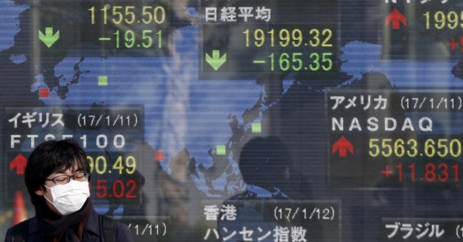 Global stocks lower after Trump offers scant policy details