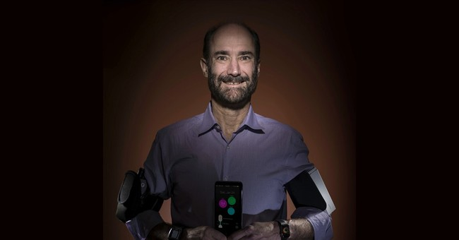 Testing wearable sensors as 'check engine' light for health