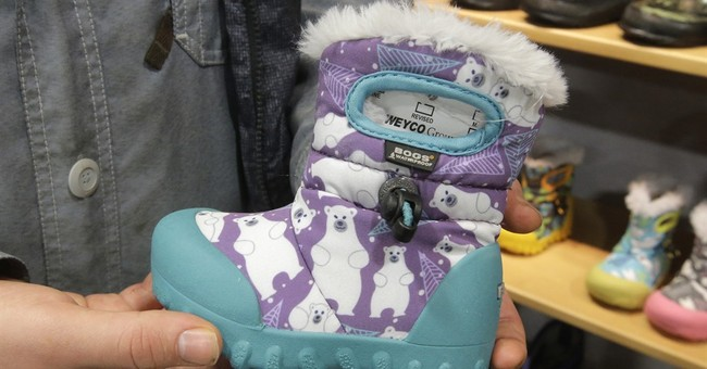 Big business of footwear on display at outdoor retail expo