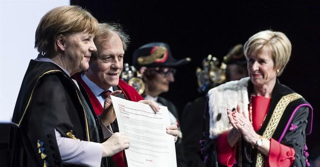 Merkel: Europe must take on more global responsibility