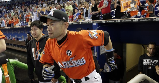 Ichiro Suzuki honored with collage showing 1st 3,000 hits