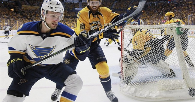 Predators take 2-1 series lead, beating St. Louis Blues 3-1