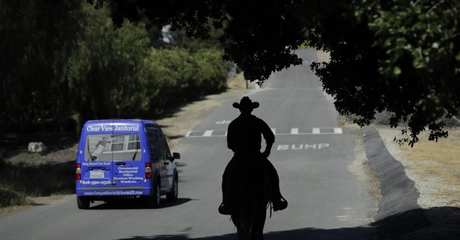 Horseman rides across US to bring attention to Agent Orange
