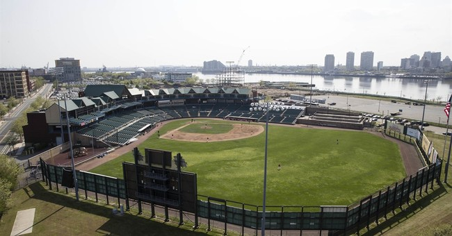 Camden's field of dreams withers, but construction blooms