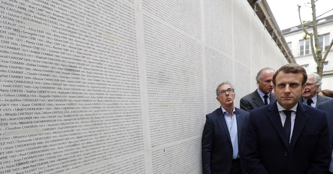 France's Macron honors Holocaust victims, vows 'Never again'