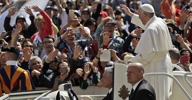 Pope to Catholics: get out, spread faith, help cholesterol