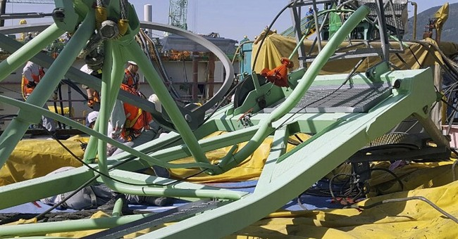 Crane collapse at Samsung shipyard kills 6 workers