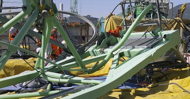 Crane collapse at Samsung shipyard kills 6 workers