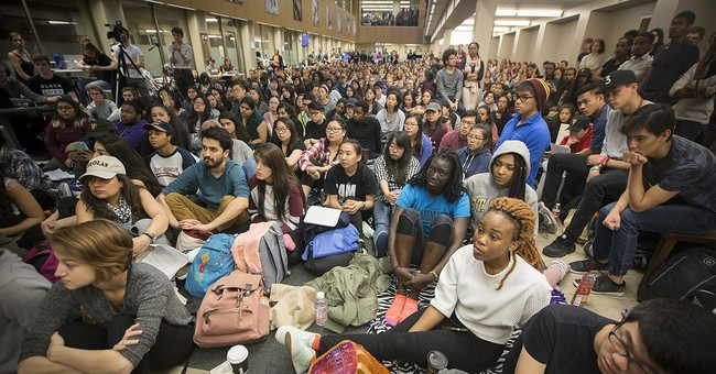 Students protest racism at liberal arts college in Minnesota
