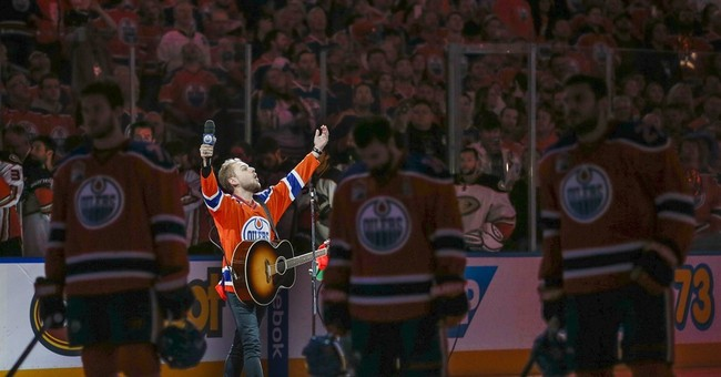Proof through the night: Edmonton fans rescue US anthem