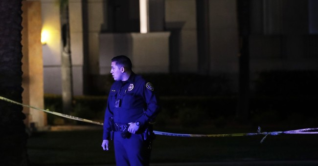 The Latest: San Diego shooting victim thanks security guard