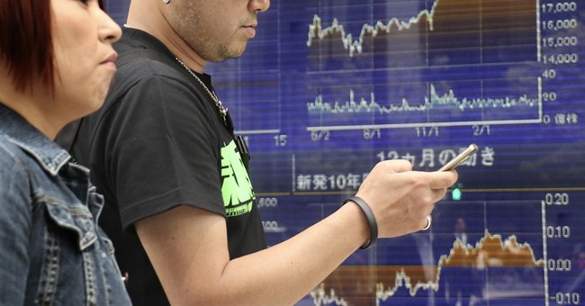 Asian stocks mostly higher, some markets closed on Labor Day