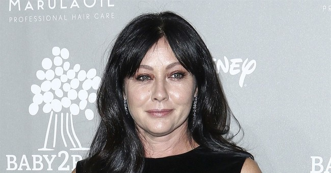 Shannen Doherty says her breast cancer is in remission