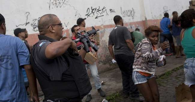Rio de Janeiro on edge as police wage big anti-crime sweep
