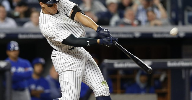 Smash hit! Judge, Gardner power Yankees past Blue Jays 11-5