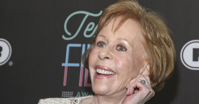 At 84, Carol Burnett ready for return to TV comedy full-time