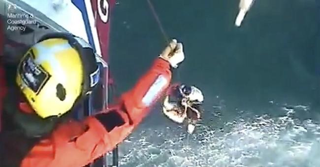 Scottish surfer saved after 30 hours at sea 'so grateful'