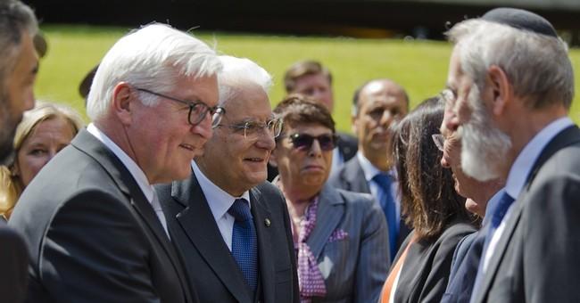German president visits site of Rome's WWII-era massacre