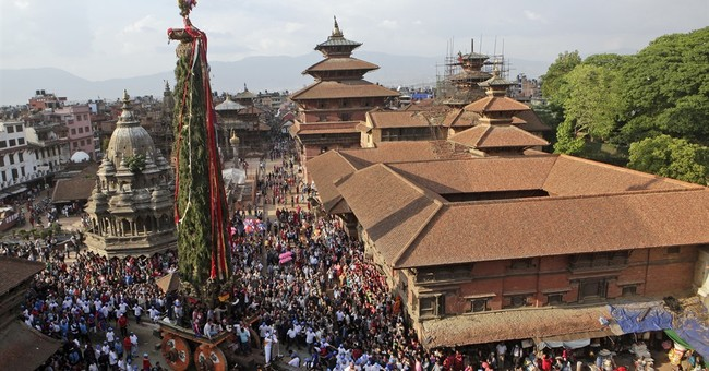Praying for prosperity, Nepalis carry on ancient tradition