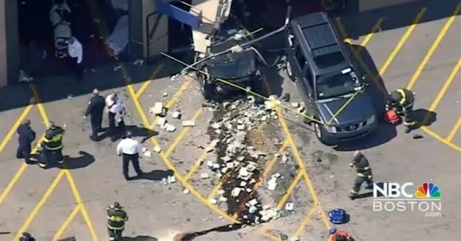 SUV suddenly takes off, crashes during auto auction; 3 dead