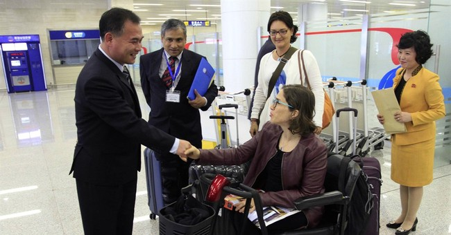 UN official in North Korea to talk about rights of disabled