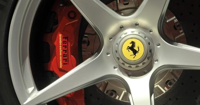 Ferrari posts record first quarter on V12 sales
