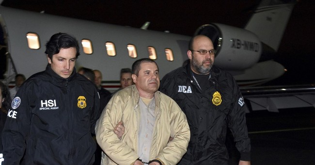 The Latest: El Chapo will be tried in the US in April 2018