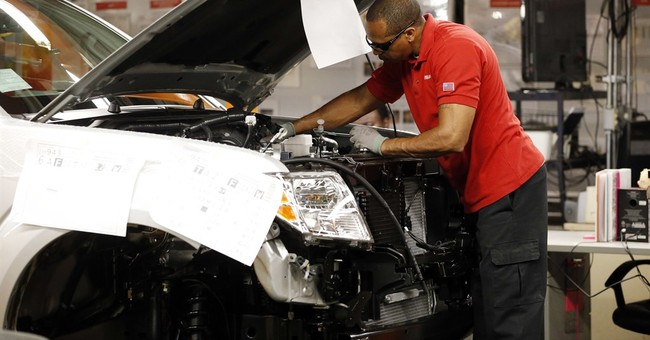 US factory orders tick up in March