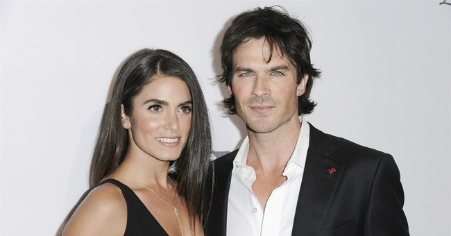 Actors Nikki Reed and Ian Somerhalder expecting 1st baby
