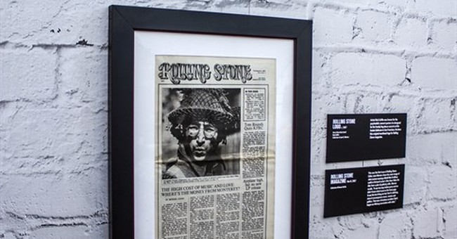 Wenner reflects on Rolling Stone at 50