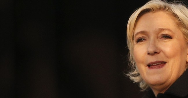 A polished Le Pen maintains gritty image in French vote
