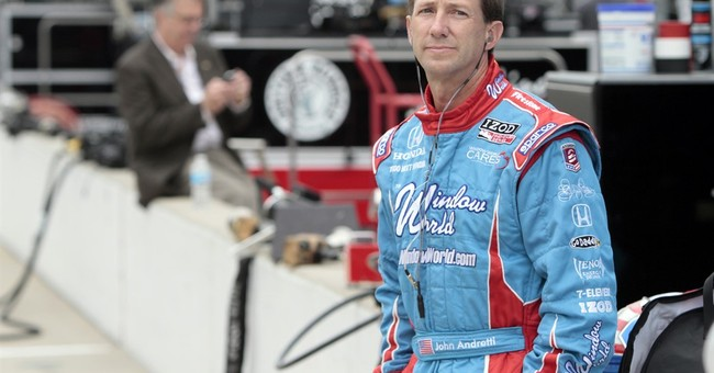 Family delivers message on behalf of Andretti's cancer fight