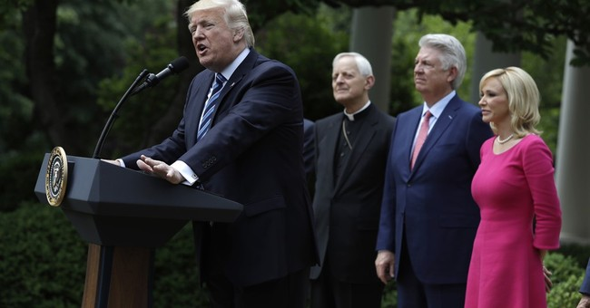 Trump limits IRS action over church political activity