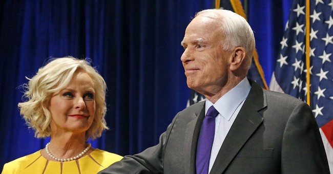 Clarification: Cindy McCain story