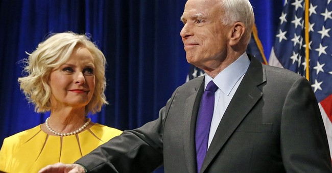 Clarification: Cindy McCain story