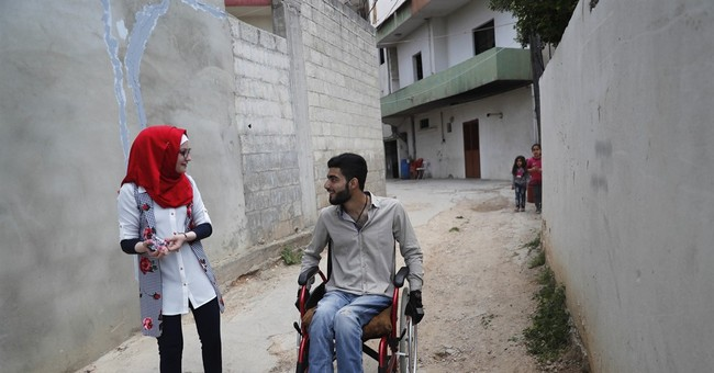 4 years on, scars of Syria's war still line girl's face