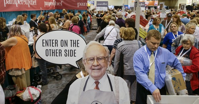 Profit down 27 percent at Buffett's firm on investment gains