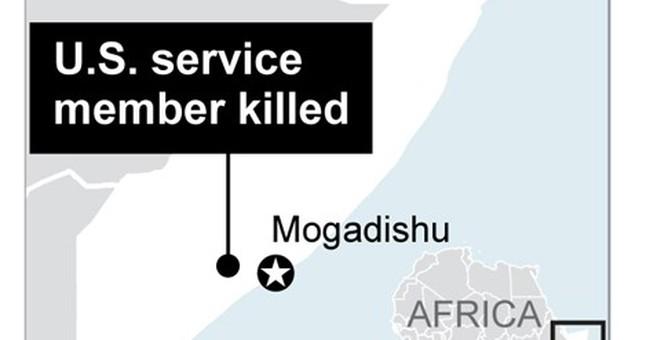 Pentagon says Navy SEAL was killed in Somalia operation