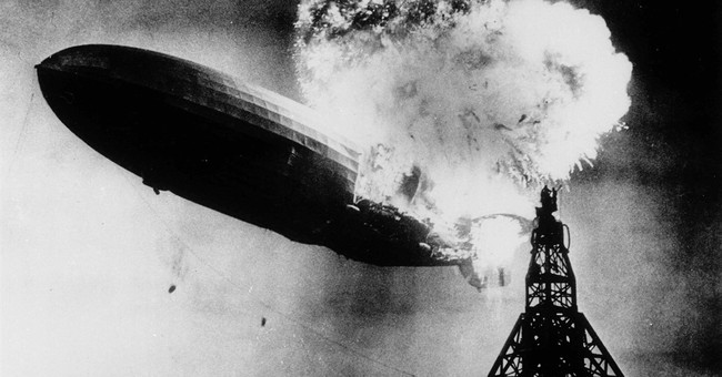 The Latest: Group marks 80th anniversary of Hindenburg blast