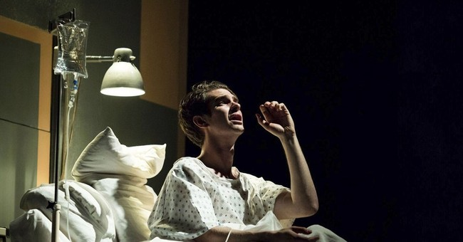 Andrew Garfield wows critics in London 'Angels in America'