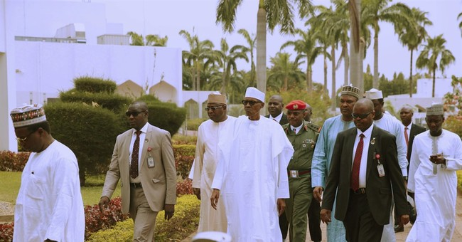 Nigeria president attends Friday prayers amid health woes