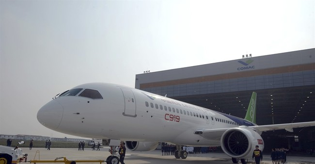 Large Chinese-made passenger jet due to make maiden flight