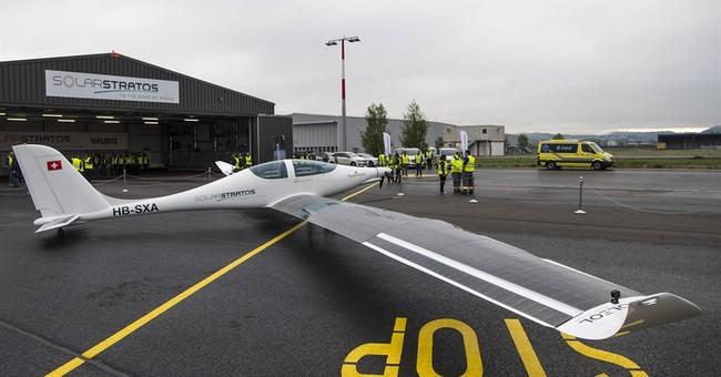 New Swiss solar plane completes 1st test flight, aims higher