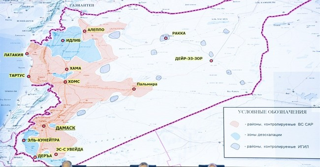 Russia-backed Syrian safe zones plan goes into effect