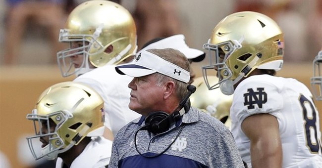 Notre Dame relaunch: Confident Kelly unfazed by hot seat
