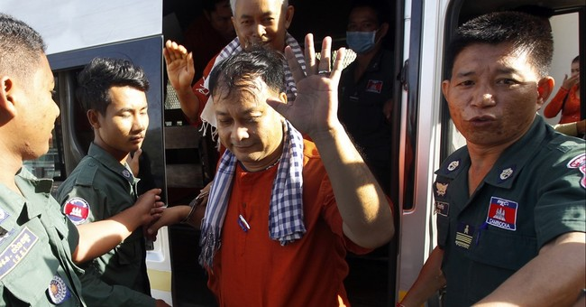 US expresses concern for detained Cambodian rights workers